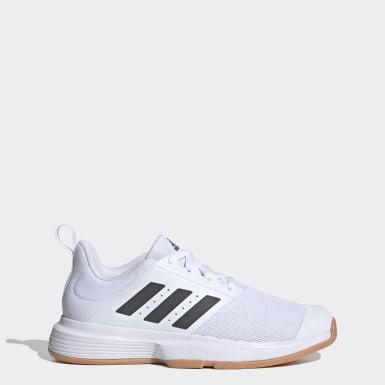 Frauen Korbball Essence Indoor Schuh Weiß