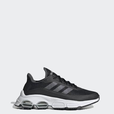Women Sport Inspired Black Quadcube Shoes