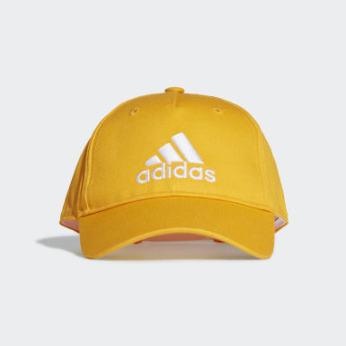 Youth Training Yellow Graphic Cap