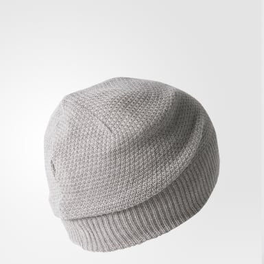 серый Двухсторонняя шапка-бини Classic