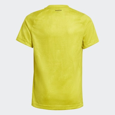 Youth 8-16 Years Tennis Yellow HEAT.RDY Primeblue Tennis Freelift T-Shirt