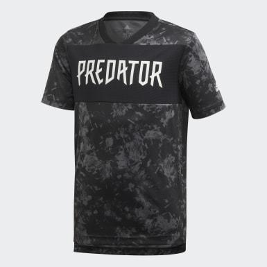 Boys Träning Svart Predator Allover Print Jersey