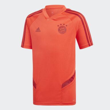 Jungen Fußball FC Bayern München Trainingstrikot Rot