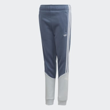 Youth 8-16 Years Originals Blue Outline Joggers