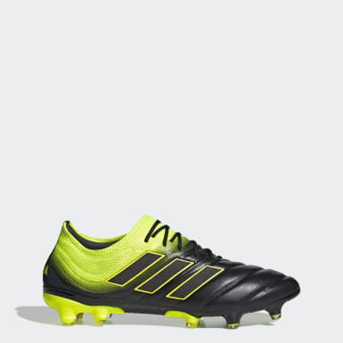 Soccer Black Copa 19.1 Firm Ground Cleats