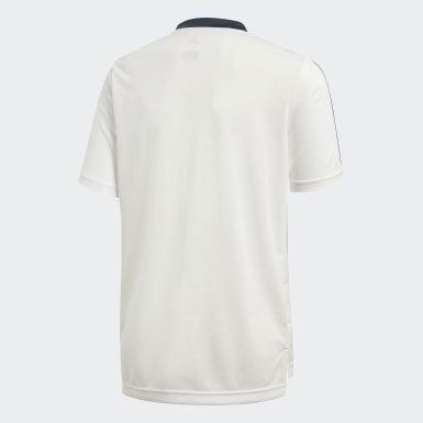 Kinderen Voetbal Wit Real Madrid Training Shirt