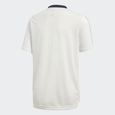 Kinder Fußball Real Madrid Trainingstrikot Weiß