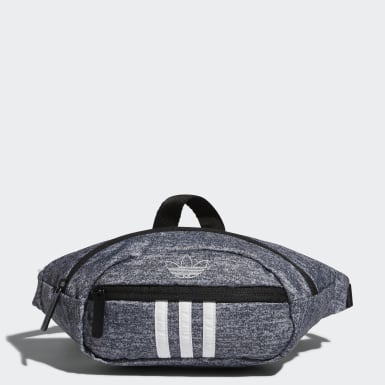 Originals Grey National 3-Stripes Waist Pack