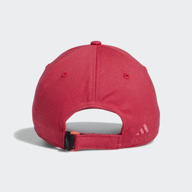 Women Golf Pink Twill Cap