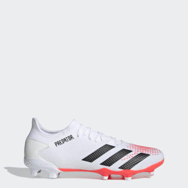 Herr Fotboll Vit Predator 20.3 Firm Ground Boots