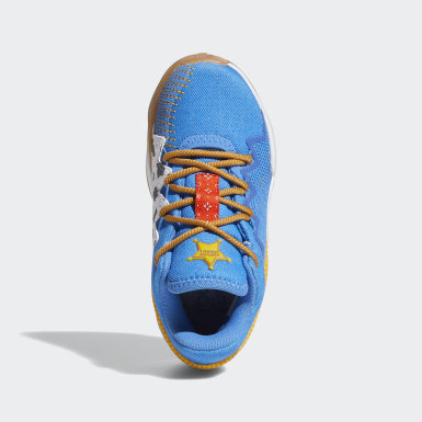 Children Basketball Blue Donovan Mitchell D.O.N. Issue #2 x Woody Toy Story Shoes
