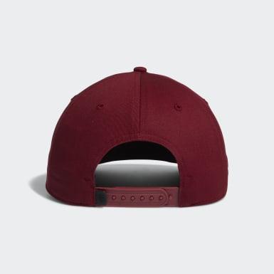 Men's Golf Burgundy Adicross Bold Stripe Hat