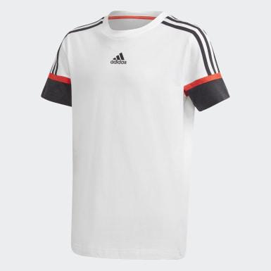 белый Футболка для фитнеса Bold