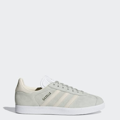 Women Originals Grey Gazelle Shoes