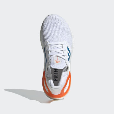 Kids Running White Ultraboost 20 Primeblue Shoes