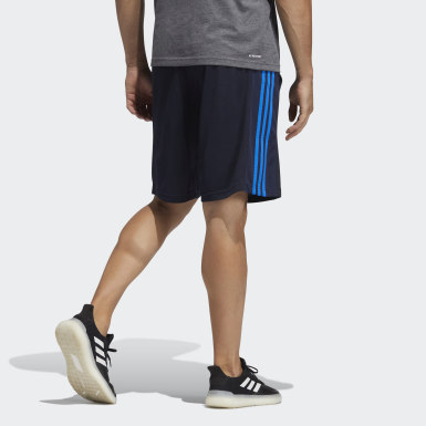 Bermuda Knit 3S Essentials 2 Azul Homem Training