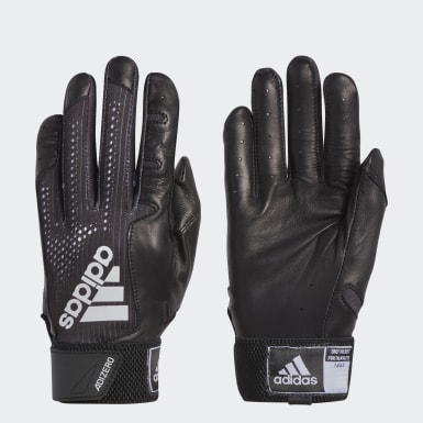 Baseball Black Adizero 4.0 Batting Gloves