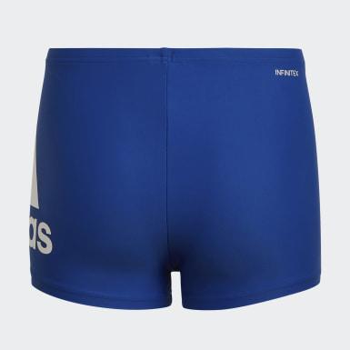 Jongens Zwemmen blauw Badge of Sport Zwemboxer