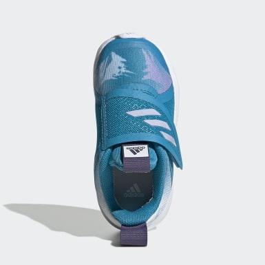 Sapatos FortaRun X Frozen Turquesa Criança Running