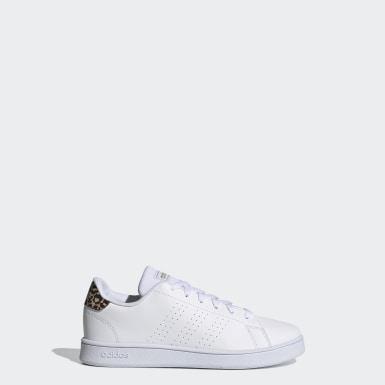 Kinder Tennis Advantage Schuh Weiß