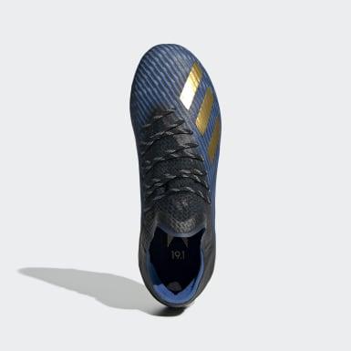 Børn Fodbold Sort X 19.1 Firm Ground støvler