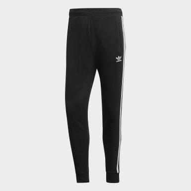 Muži Originals černá Kalhoty 3-Stripes