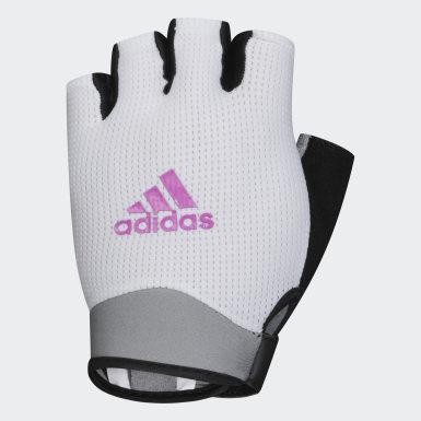 белый Перчатки для фитнеса, размер S