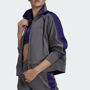 Women's adidas by Stella McCartney Grey Track Top