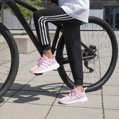 Pantaloni Essentials 3-Stripes Nero Ragazza Athletics