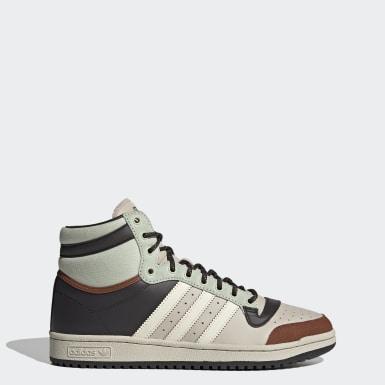Originals Top Ten Hi Schuh Beige