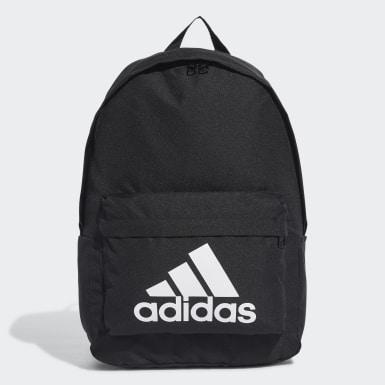 Lifestyle Black Classic Big Logo Backpack