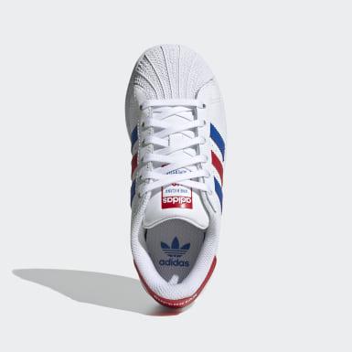 Zapatillas Superstar Blanco Niño Originals