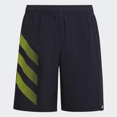 Chlapci Plávanie modrá Plavecké šortky Bold 3-Stripes