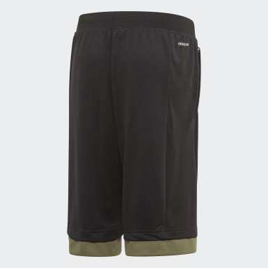 Boys Yoga Svart Bold Shorts