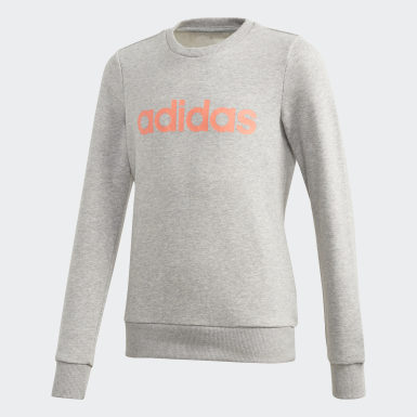 Sudadera Linear Gris Niño Training