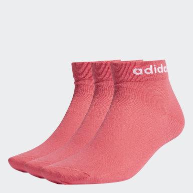 Trénink růžová Ponožky Non-Cushioned Ankle – 3 páry