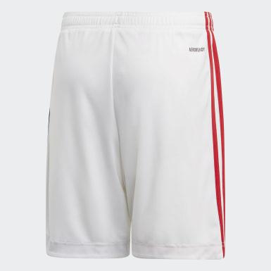 Děti Fotbal bílá Domácí šortky Olympique Lyonnais