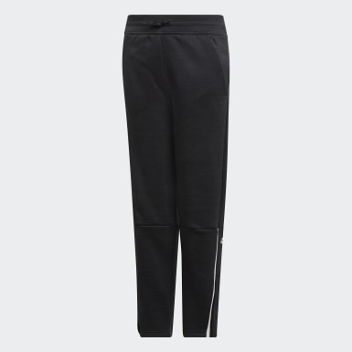 Kinder Athletics adidas Z.N.E. Slim Hose 3.0 Schwarz