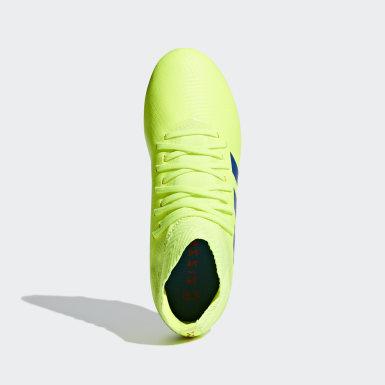 Botas de Futebol Nemeziz 18.3 – Piso Firme Amarelo Criança Futebol