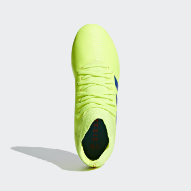 Chaussure Nemeziz 18.3 Terrain souple Jaune Enfants Football