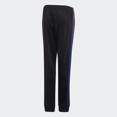 Kids Originals Black Adicolor 3D Trefoil Tracksuit Bottoms