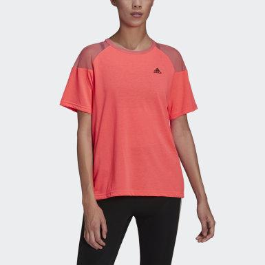 Ženy Běh růžová Tričko Unleash Confidence