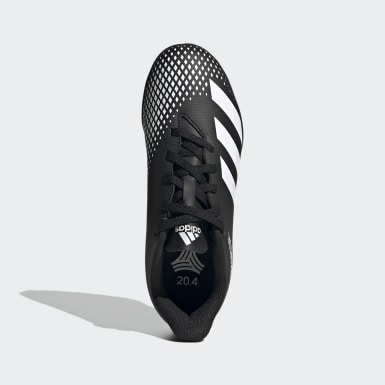Children Football Black Predator Mutator 20.4 Turf Boots