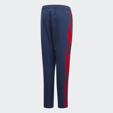 Youth 8-16 Years Football Blue Arsenal Presentation Tracksuit Bottoms