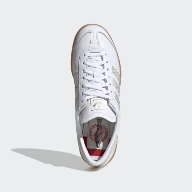 Sapatos Hamburg Branco Mulher Originals