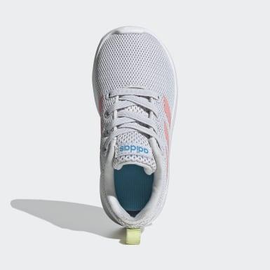 Kids Running Grey Lite Racer CLN Shoes