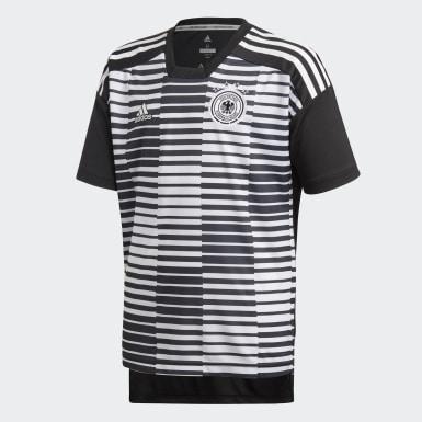 Jersey Prepartido Alemania Blanco Niño Fútbol