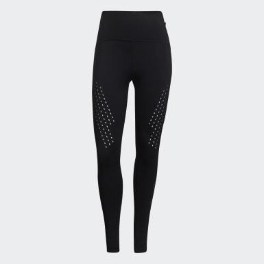 Women adidas by Stella McCartney Black TRUEPURPOSE Leggings
