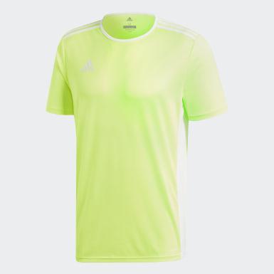 Camisa Entrada18 Amarelo Homem Futebol