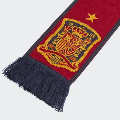 Cachecol de Espanha Vermelho Futebol